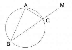 Теорема о секущей и касательной