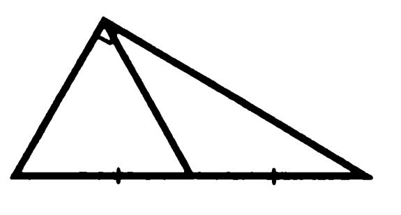 Медиана прямоугольного треугольника, проведенная к гипотенузе