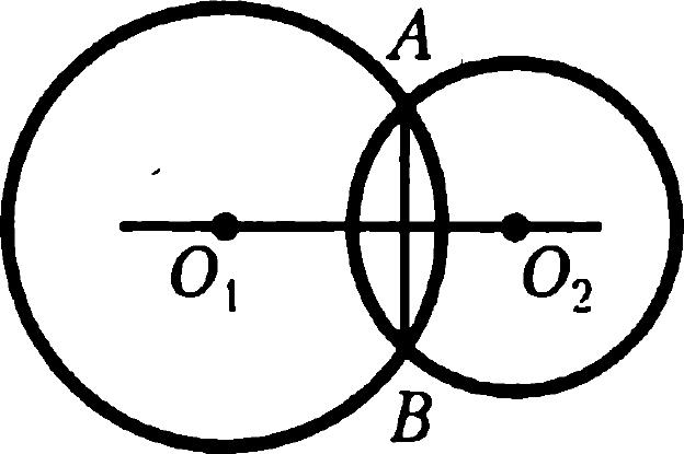 Окружности с общей хордой