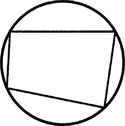 Описанная около четырехугольника окружность