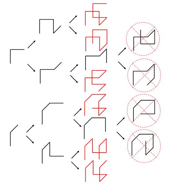 Сколько ломаных длины 7, проходящих через все вершины, можно образовать из ребер единичного куба?
