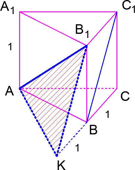 Решение задачи C2 из сборника заданий для подготовки к ЕГЭ по математике 2012