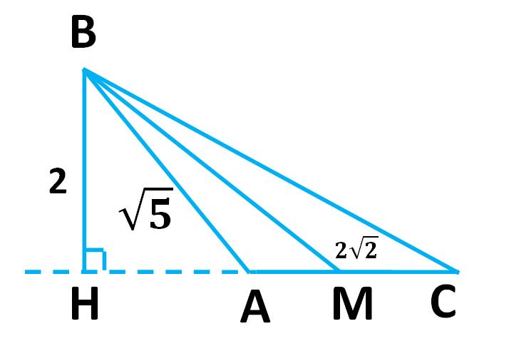 Нахождение медианы треугольника по длинам его сторон