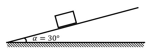Брусок на наклонной плоскости (задание 3 из ЕГЭ по физике)