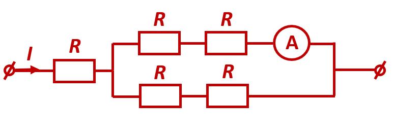 Электрическая схема из задания 15 ЕГЭ по физике