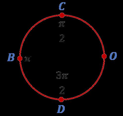 Базовые точки на числовой окружности