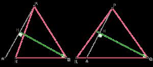 Треугольники и их биссектрисы из задачи ЗФТШ