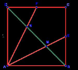 """Единичный квадрат из последнего задания вступительного экзамена в лицей """"Вторая школа"""" в 2017 году"""