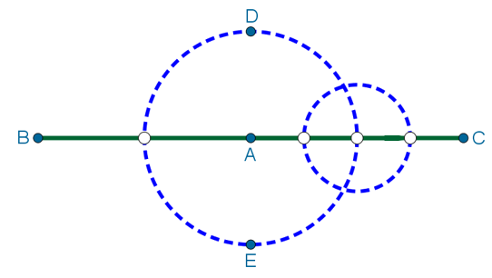 Траектория движения Пети в том случае, когда он сперва двигается по дороге, а затем по полю