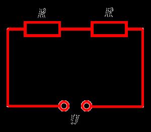 Два резистора соединены последовательно. Задача 26 из ОГЭ по физике