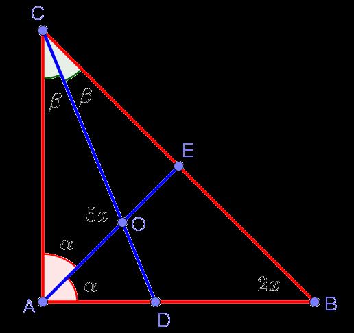 Рисунок к задаче по планиметрии из вступительного экзамена по математике в РЕУ им. Г.В. Плеханова