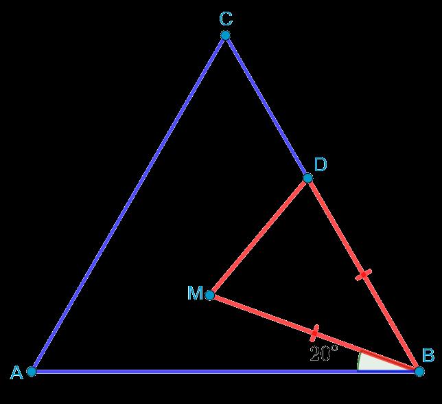 Геометрическая задача из демонстрационного варианта вступительного экзамена в школу 57
