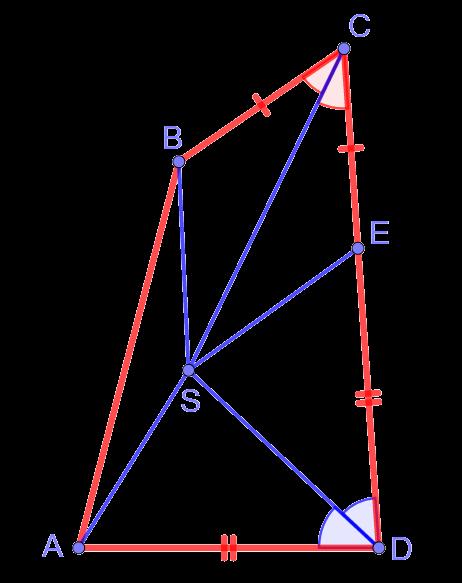 """Пример задачи по планиметрии и устного собеседования при поступлении в лицей ВШЭ на направление """"Математика"""""""