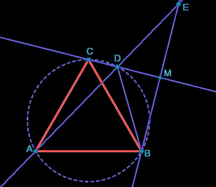"""Планиметрическая задача на доказательство из устного собеседования в лицей ВШЭ при поступлении на направление """"Математика"""""""